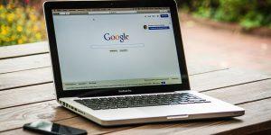 Google Laptop header