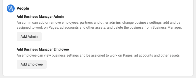 Add People to Facebook Business Manager